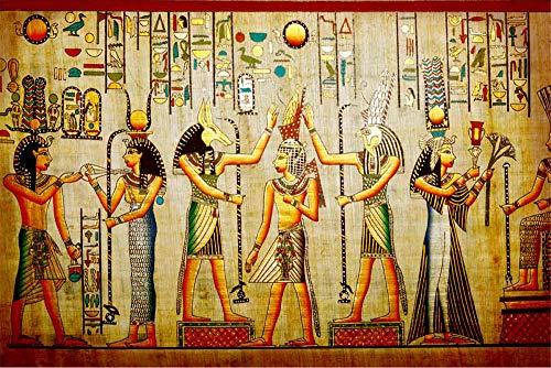 FAWFAW Rompecabezas 1000 Piezas, Mitos De La Creación Egipcia 1500/1000/500/300 Piezas
