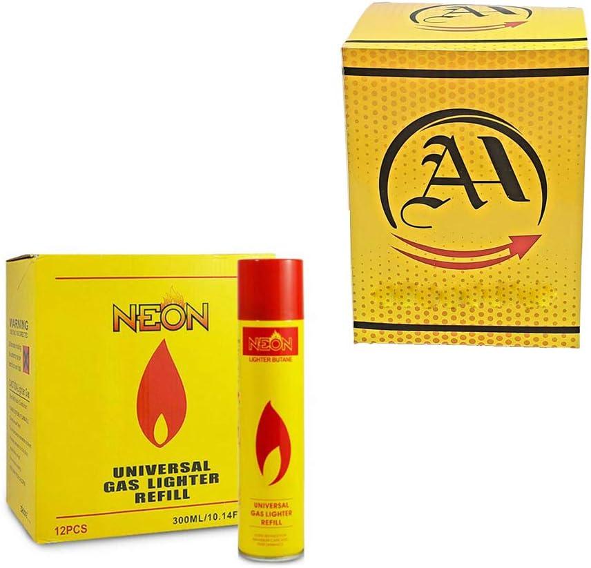 Butane Gas Refill Torch Lighter Fluid 12 of Neon Pack 一部予約 Pac 新発売