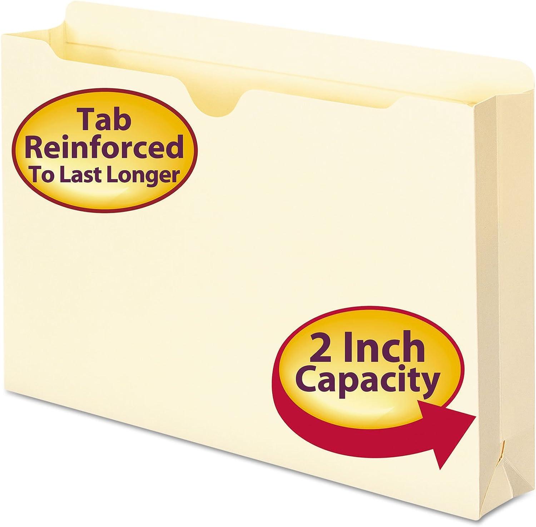 wholesape barato File Jackets, 2-Ply Top, 2  Accordion Accordion Accordion Expansion, Legal, 11 Point Manila, 50 Box  envío gratis