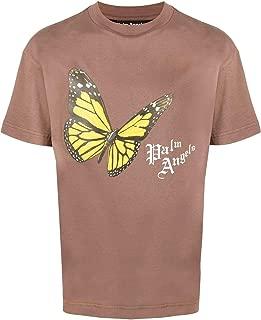 PALM ANGELS Luxury Fashion Mens PMAA001S204130145088 Brown T-Shirt |