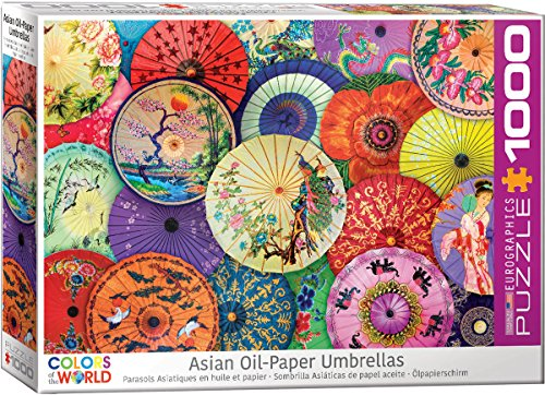 EuroGraphics 6000–5317asiatischen Öl Papierschirmchen 1000Teile Puzzle
