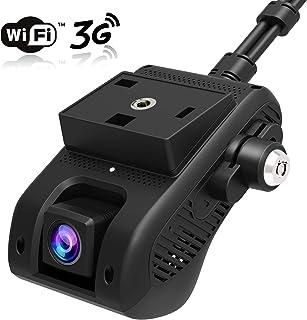 Jimi JC200 Car Camera EdgeCam Pro 3G Car DVR Dash Cam With HD 1080P Dual Camera GPS Tracker Remote Monitoring Live Streaming