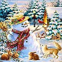 ダイヤモンド刺繍ポートレート刺繍刺繍ダイヤモンド絵画ラインストーン家の装飾クリスマス40x40cm