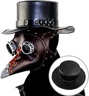 Senior Steampunk, Plague Skull Mask, Role Playing, Halloween Mask, Long Nose Mask, Doctor Mask