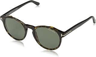 Sunglasses Tom Ford FT 0591 Ian- 02 52N dark havana/green