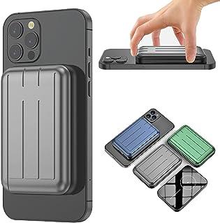 Magnetisk trådlös laddare sladdlös powerbank, för Mag iPhone 12, 12 Pro 12 Promax 12 mini säker magnet powerbank, 5 000 mA...