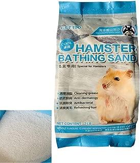 PIVBY Hamster Bathing Sand Tiny Friends Farm Chinchilla Dust Bathing Sand Toys for Bunny Rabbits Guinea Pigs Gerbils(2LB)