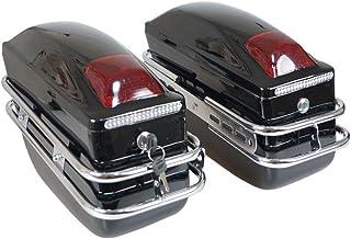 Suchergebnis Auf Für Honda Leder Satteltaschen Koffer Gepäck Auto Motorrad