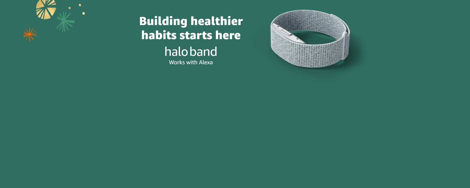 Building healthier habits starts here. Halo Band.