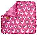 Dear Baby Gear Baby Blankets, Antlers on Pink, Pink Minky