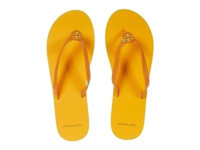 Tory Burch Mini Minnie Flip-Flop (Yams/Golden Citrus/Yams) Women