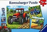 Ravensburger - Puzzle enfant - Machines Agricoles - 3X49 Pièces