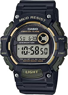 Casio Men's Mud Resistant Stainless Steel Quartz Watch...