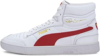 PUMA Mens Ralph Sampson Mid Basketball Inspired Sneakers Shoes