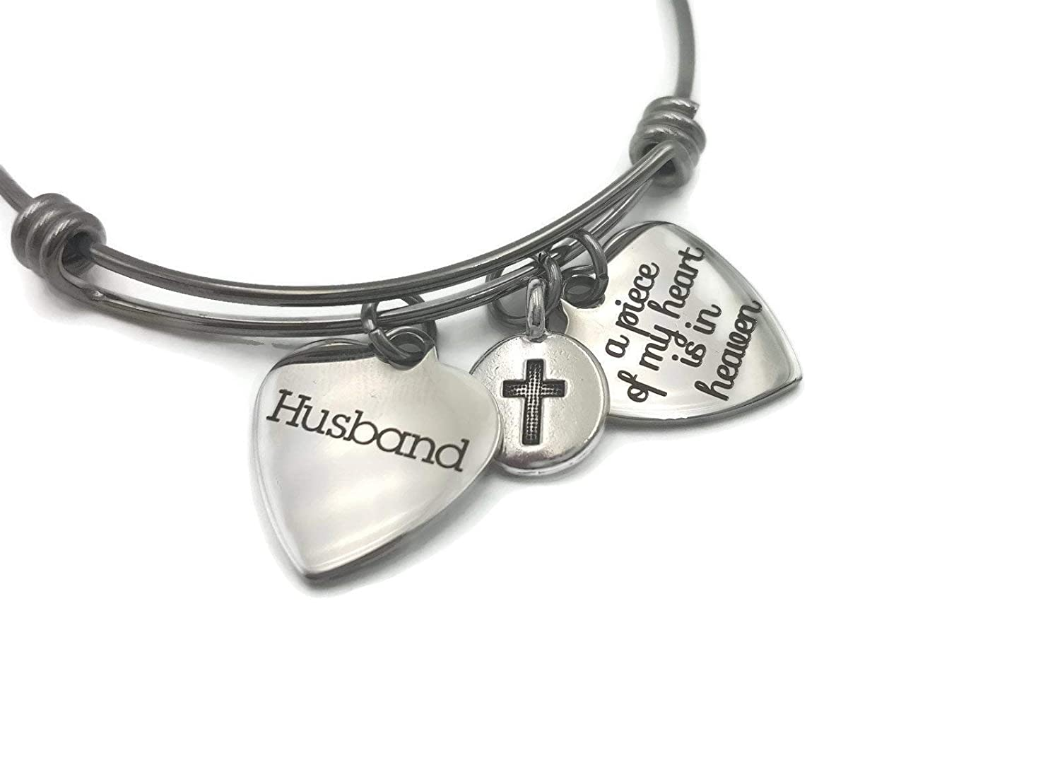 Memorial Gift In Memory of Husband A Heart price Max 62% OFF He is My in Piece