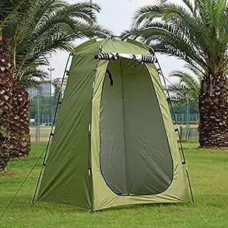 Utomhus Camping Vattentät Dusch Bad Tält Bärbar Omklädning Passande Rum Skydd Vandring Strand Utomhus Stort Täl