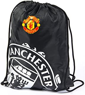 Spot On Gifts React Football Club Gym Bag (One Size) (Manchester United)