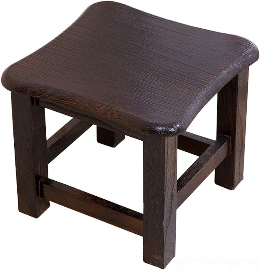 Yxsd Stool security - Shoe Bench Max 75% OFF Table Coffee Household Wood Solid