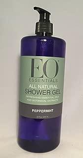 EO Essentials All Natural Shower Gel Peppermint 32 ounce (Peppermint)