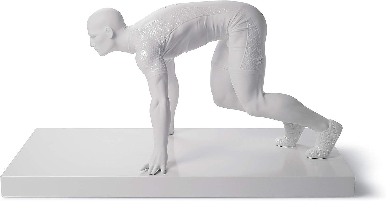 LLADRÓ Sprinter Man Clearance SALE! Limited time! Figurine. Seattle Mall Porcelain Figure.