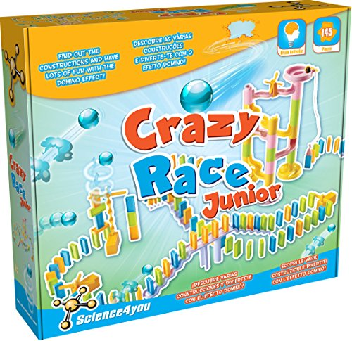 Science4you-Crazy Race Junior, Juguete Educativo y cientí
