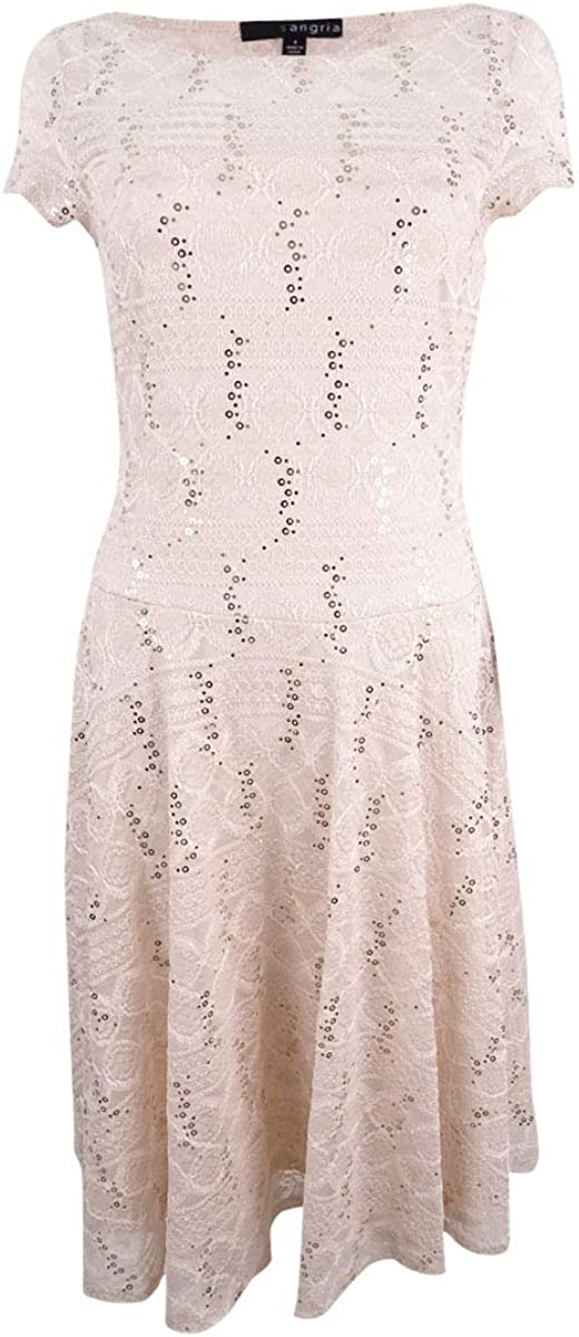 Sangria Women's ! Super beauty product restock quality top! Max 49% OFF Sequin Dress Lace
