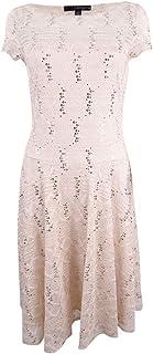 Sangria Women's Sequin Lace Dress