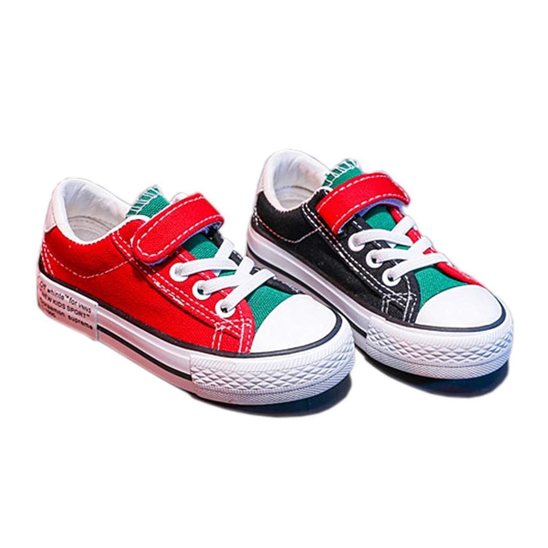 [テンカ]ベビーシューズ スニーカー 子供靴 キッズ 運動靴 デッキシューズ 通学靴 クッション性 屈曲性 歩きやすい 軽量 赤ちゃん 日常履き 履き脱ぎやすい 柔らかい 男の子 女の子 プレゼント 通気 軽量
