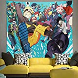 Tapestry Anime Tapestries for Boys Bedroom Party Decoration Gifts 51.2 x 59.1 in
