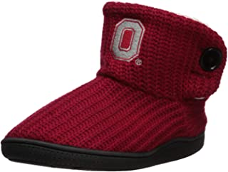 FOCO NCAA Womens Knit 2 Button Boot