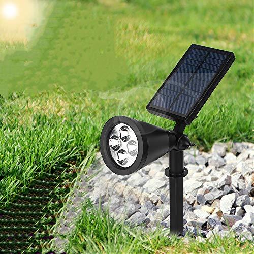 Solar-Licht, Solarstrahler im Freien, 16-LED-Wachstumslampe, einstellbar für automatische Außenanlagen, Hydroponik-Gartenarbeit