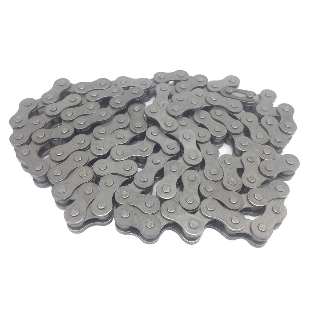 415-110L Link Chain Auto Engine Chain for 49cc 60cc 66cc 80cc Engine Motorized Bicycle KIMISS Stainless Steel Material Chain
