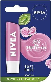 Nivea Soft Rose Lip Balm, 4.8g