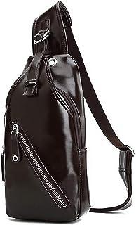 VogueZone009 Women's Zippers Dacron Casual Pu Crossbody Bags,CCABO215604