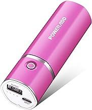 Poweradd Slim 2 - Batería externa 5000mAh power pack para smartphones, cámaras digitales y MP3(Rosa)