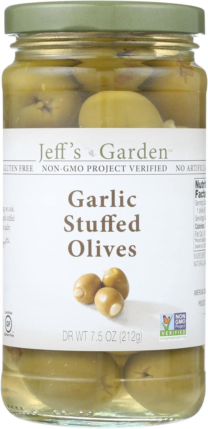 Jeff's Natural Garlic Stuffed Stu Olives online shop online shop -