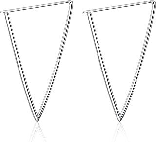 925 Sterling Silver Circle Endless Hoop Earrings for Women Girls 20 30 40 50 60mm