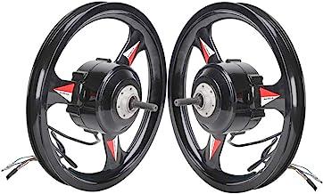GZFTM 36 V 48 V 500 W 20 pulgadas BLDC motor rueda de transmisión trasera con rueda delantera Ebike sin escobillas bicicleta eléctrica Kit
