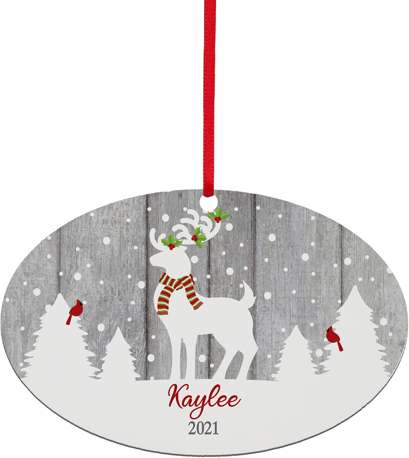 Let's Make Memories - Safety and trust Personalized a Christmas It's Free shipping Ornament W