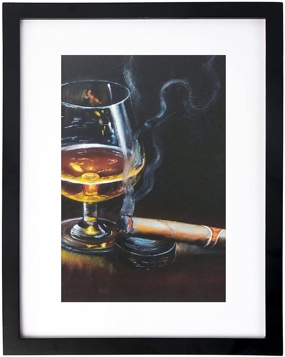 VinMea Super sale Max 80% OFF Wall Art Print A Picture with an Oil for Glass Him Pain