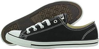 Converse Women's Dainty Canvas Low Top Sneaker, Black