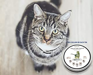 Pet scape Organic Cat Flea Collar-(2 Collars!) 100% Flea Prevention for Cats- Natural Flea Treatment for Cats and Kittens for 8 Months- Premium Formula!!
