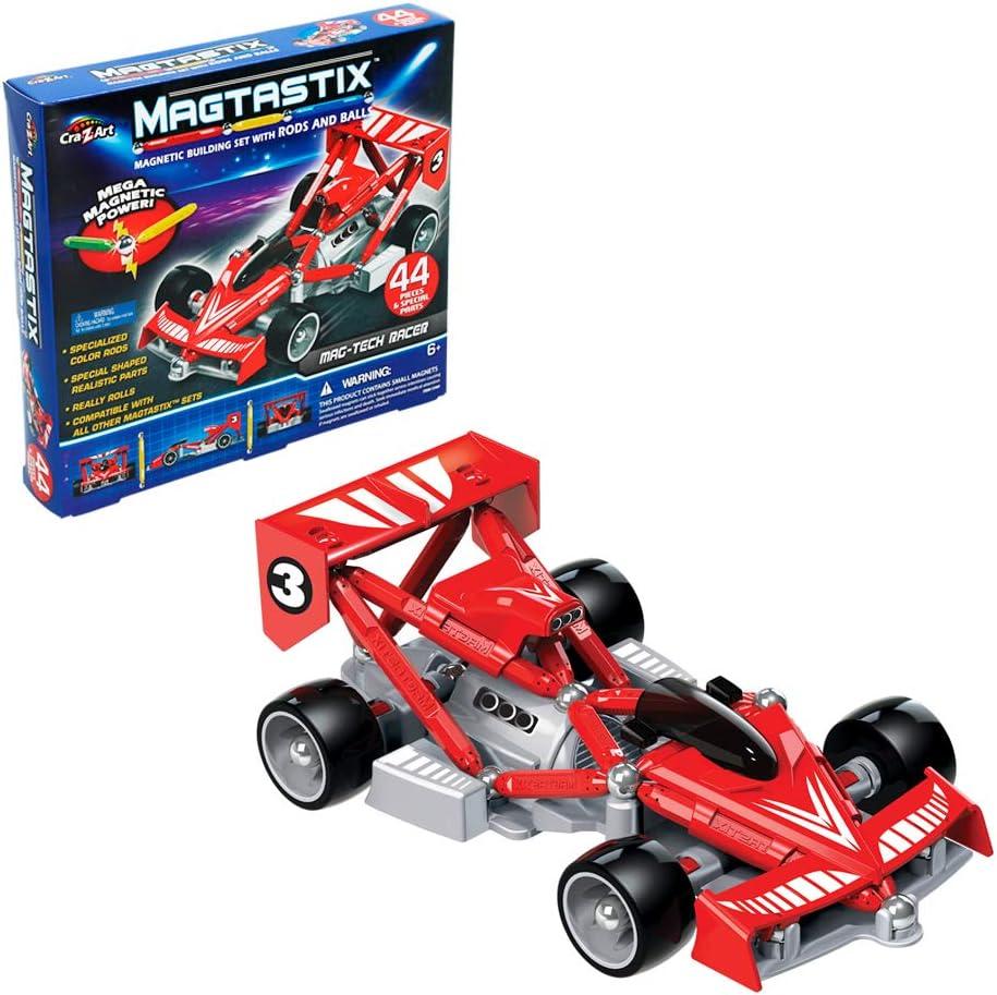 Cra-Z-Art - Juego de construcción coche fórmula 1 Magtastix (85335) , color/modelo surtido