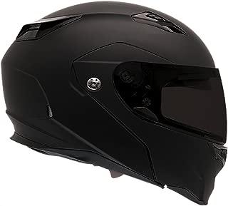Bell Revolver Evo Modular Motorcycle Helmet (Solid Matte Black, X-Large)
