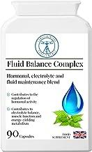 Fluid Balance Complex Hormonal Electrolyte Fluid Management Blend Alfalfa Kelp Dandelion Parsley Magnesium Vegan Made in The UK 90 Capsules Estimated Price : £ 15,99