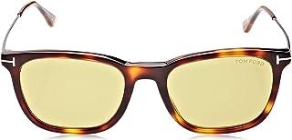 Tom Ford - FT0625 52N 55 Monturas de gafas, Marrón (Avana ScuraVerde), 55.0 Unisex Adulto