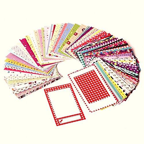 Polaroid kleurrijke, grappige en decoratieve stickers voor fotoranden voor 5 x 7,5 cm fotopapier projecten (Snap, Zip, Z2300) - pak van 100