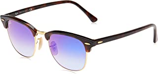 Ray-Ban Unisex's Clubmaster RB3016 51mm