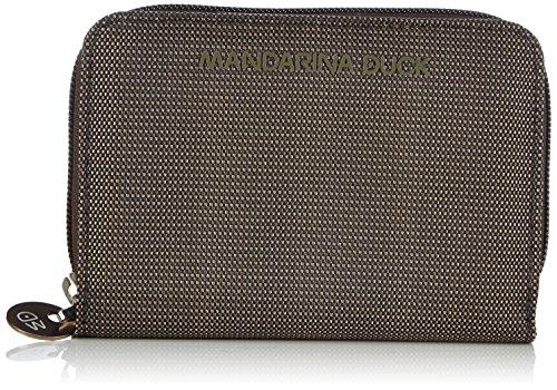 Mandarina DuckMD20 PORTAFOGLIO - Portafoglio donna , Nero (Nero (nero)), 2x10x14 cm (B x H x T)