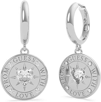 """Guess Jewellery - Orecchini da donna """"From Guess with Love"""" con Swarovski"""